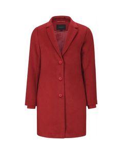 Careful Jacket Crimson