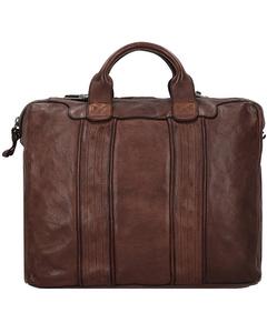 Handtasche Leder 38 cm
