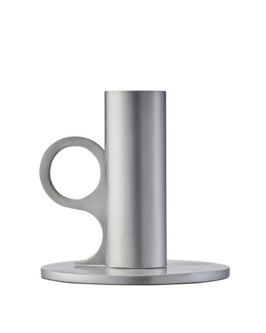 Edblad Signe Candle Holder Medium Aluminium