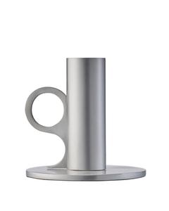 Signe Candle Holder Medium Aluminium