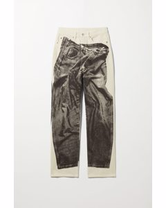 Rowe Printed Jeans Off-white