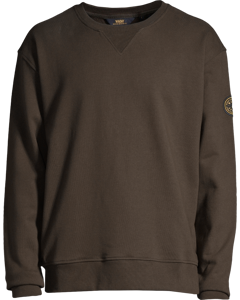 Badge Sweatshirt Dk Khaki