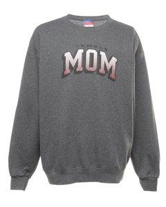 Champion Temple Mom Printed Sweatshirt