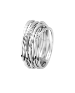 Be Loved - Silver Fashion Ring - Woman