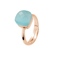 Be Loved - Ring Linea Moda Silver Crystal - Woman