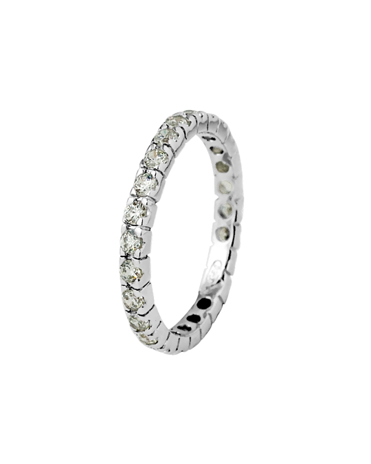 BE LOVED Be Loved - Silver Zirconium Ring - Woman