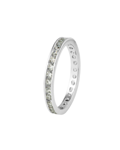 Be Loved - Silver Zirconium Ring - Woman