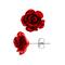 Zilveren Wandelwagen Oorbellen Tag-borose-red