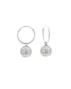 Be Loved - Silver Pendant Earrings - Woman
