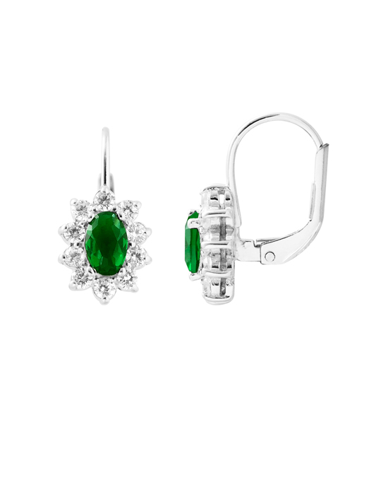 BE LOVED Be Loved - Silver Zirconium Earrings - Woman