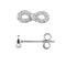Zilveren Zirkonium Oorbellen Tag-opallas