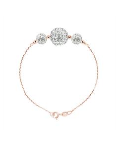 Be Loved - Silver Trilogy Bracelet - Woman