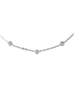 Be Loved - Silver Love Necklace - Woman