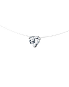 Be Loved - Silver Cable Necklace - Woman