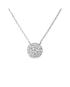 Be Loved - Silver Circle Necklace - Woman