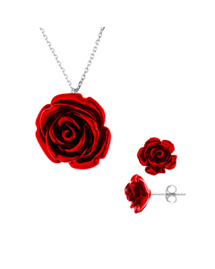Be Loved - Silver Pendant Set - Woman