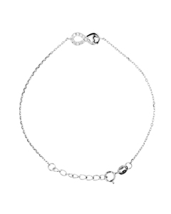 Be Loved - Silver Infinity Bracelet - Woman