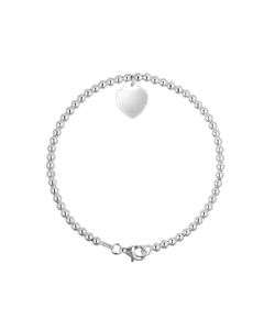 Be Loved - Silver Heart Bracelet - Woman