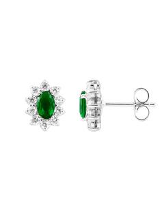 Be Loved - Silver Zirconium Earrings - Woman