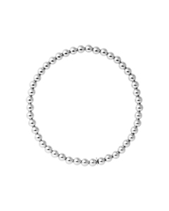 Be Loved - Silver Elastic Bracelet - Woman