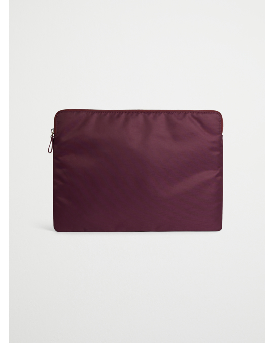 AFOUND OBJECTS Laptop Case Nylon  Winered
