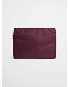 Laptop Case Nylon  Winered