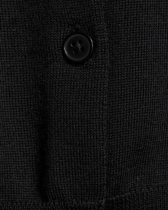 Filippa K Merino Short Cardi Black