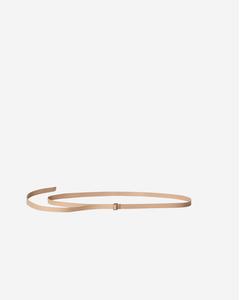 Thin D-ring Belt Natural