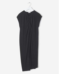 Crepe Jersey Dress Black