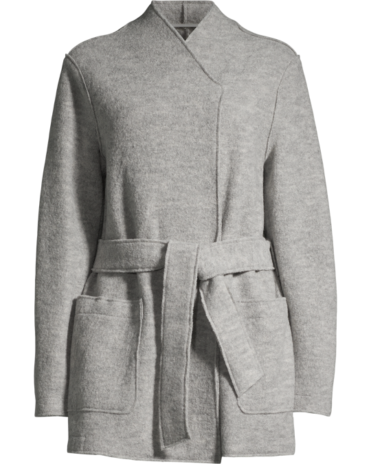 Filippa K Leia Belt Jacket Light Grey