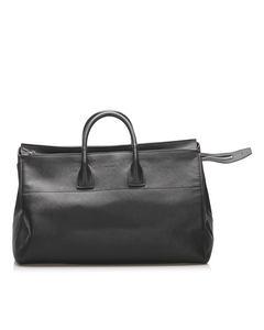 Prada Saffiano Travel Bag Black