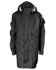 Junior Pu Parka Jet Black