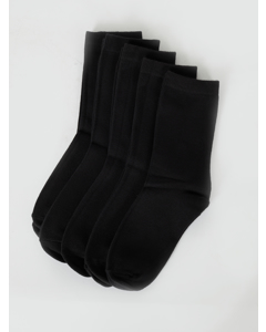 Normal Shaft Socks Kids Black