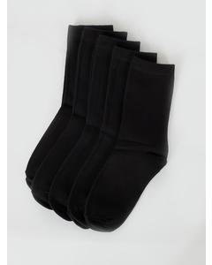 Normal Shaft Socks Kids Black