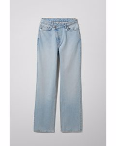 Skew High Crossover Jeans Fresh Blue
