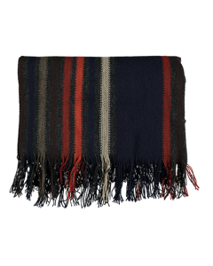 Scarves Stripe Navy Navy