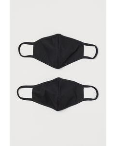 Nicht-medizinische Masken Schwarz