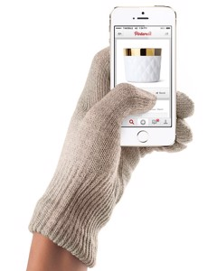 Touchscreen Gloves - Sandstone (m/l)