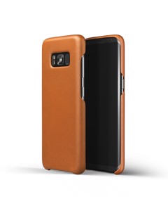 Leather Case For Galaxy S8 Saddle Tan