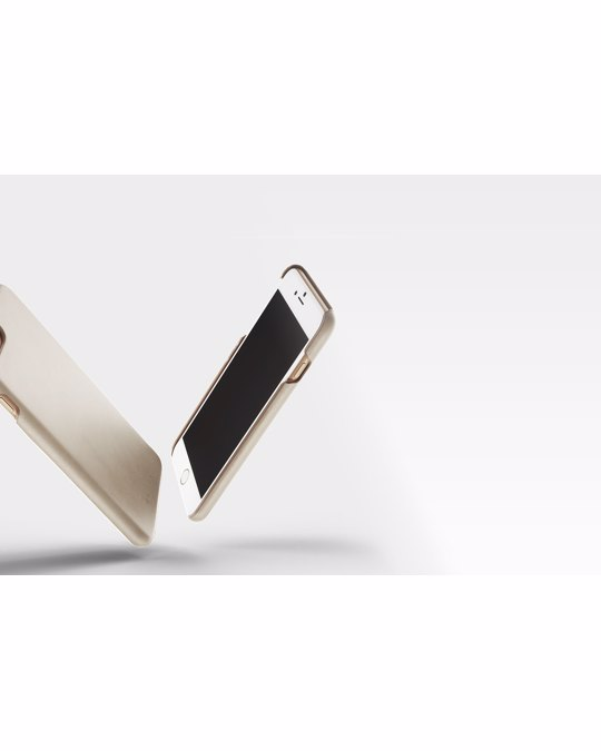 Mujjo Leather Case For Iphone 8 Plus / 7 Plus - Champagne