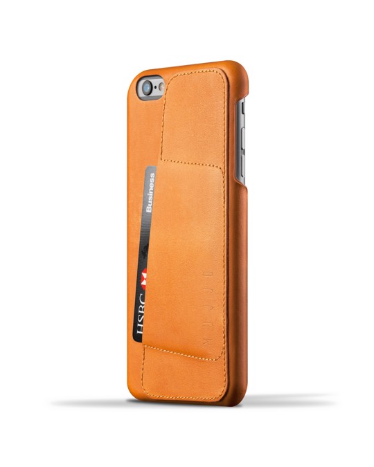 Mujjo Leather Wallet Case 80° For Iphone 6(s) Plus - Tan