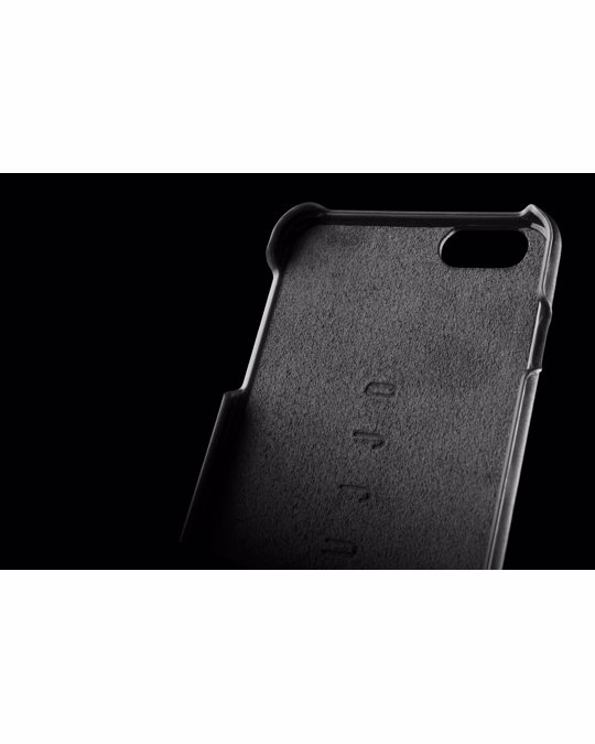 Mujjo Leather Wallet Case 80° For Iphone 6(s) Plus - Black