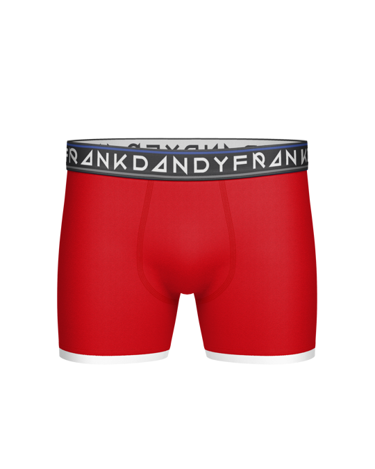 Frank Dandy St Paul Bamboo Boxer/deep Red