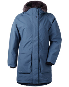 Dagny Wns Parka Atlantic Blue