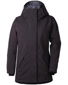 Marie Wns Parka Chocolate Brown