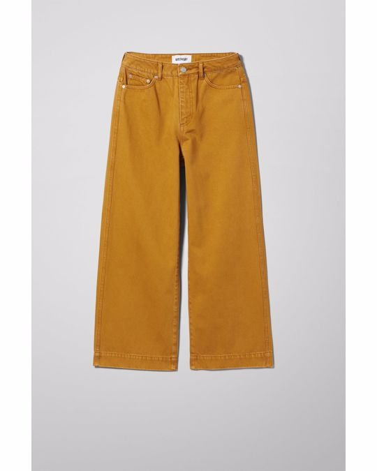 Weekday Veer Occra Jean Yellow