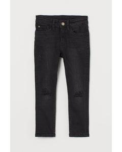 Skinny Fit Jeans Dunkelgrau