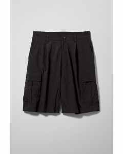Linton Cargo Shorts Black