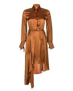 Asymmetric Silk Dress Kaleva