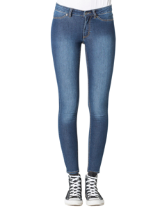 Mid Spray Jean Dim Blue